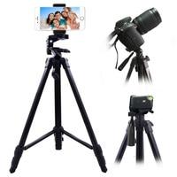 140cm Universal Phone Holder Portable Camera Tripod For Mobile Phone Professional Tripod For Canon Sony Nikon Camera SmartPhone