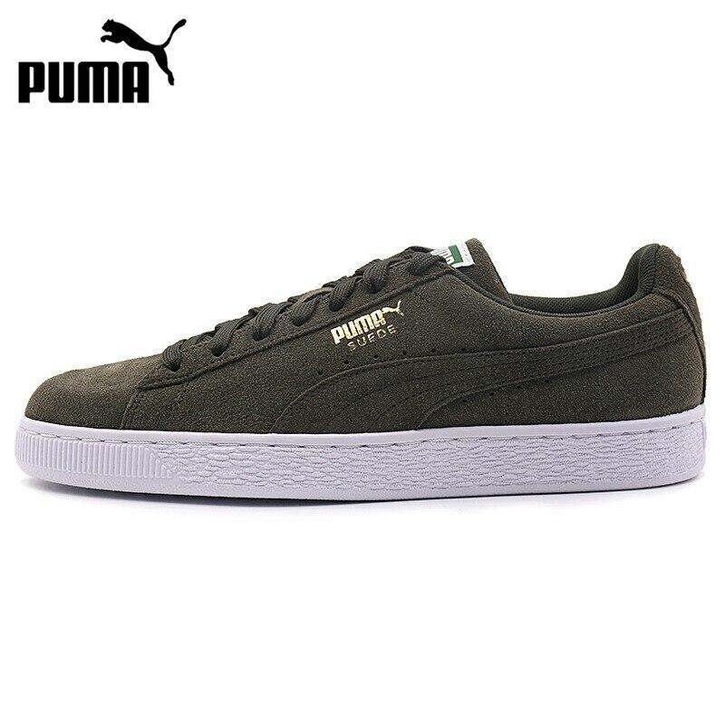 Nouveauté originale 2018 PUMA daim classique + unisexe chaussures de skate baskets
