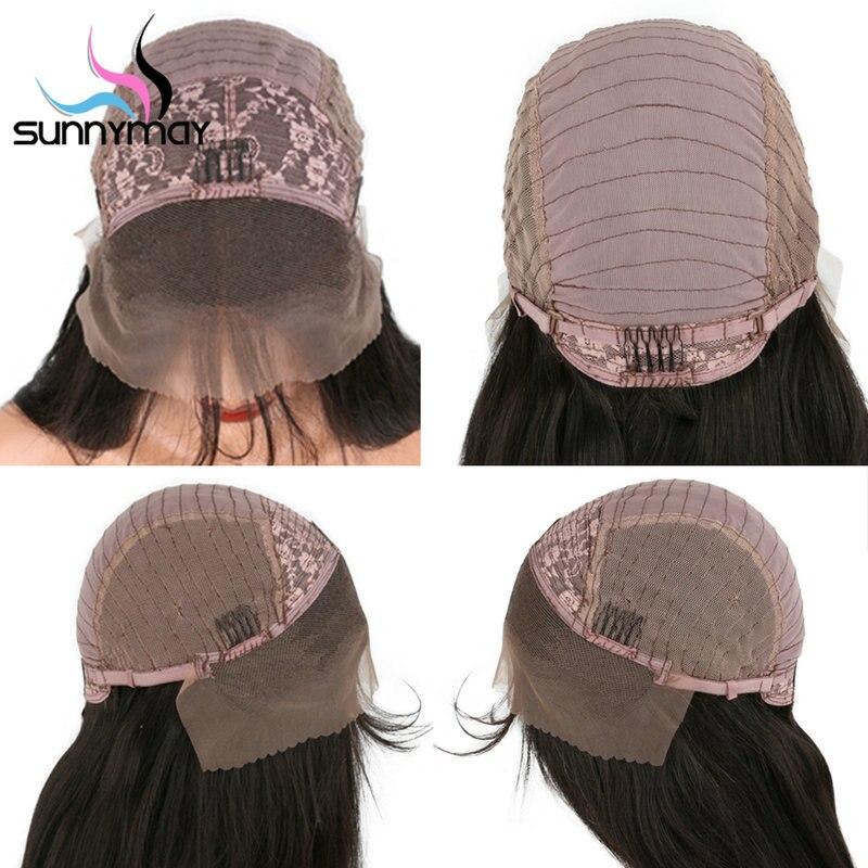 Sunnymay Loose Wave Lace Front Mänskliga Hårperor För Kvinnor Med - Mänskligt hår (svart) - Foto 6