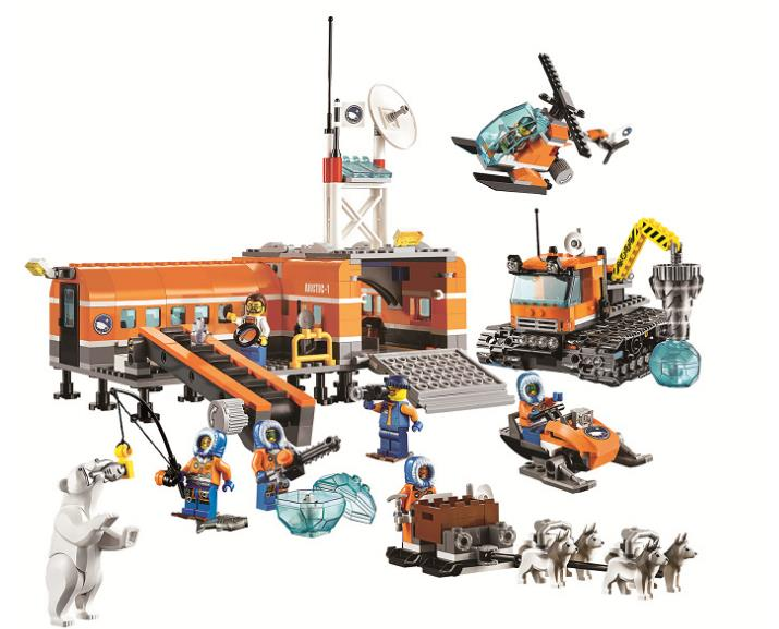 10442 783pcs Arctic Base Camp Model Building Blocks kids Educational Bricks Toys gift For kids10442 783pcs Arctic Base Camp Model Building Blocks kids Educational Bricks Toys gift For kids