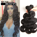 Queen peruano onda do corpo do cabelo virgem 3 pacotes onda do corpo peruano feixes de cabelo humano 10a destaque tecer cabelo peruano baratos