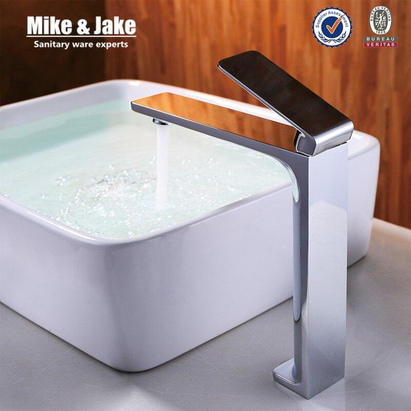 High bathroom Faucet basin crane bathroom water faucet basin mixer bathroom faucet torneira faucet water tap mixers MJF102071 цена