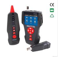 Free shipping, Noyafa New design NF 8601 POE PING LCD cable length tester network tester testing for RJ11 RJ45 BNC cables