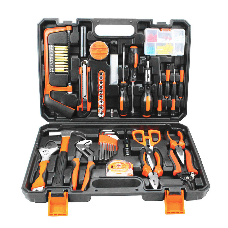 102pcs Combination household hand tool set kit accessories repair Spanner multi tool kit Herramientas DN154