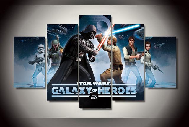 Canvas Printed Star Wars