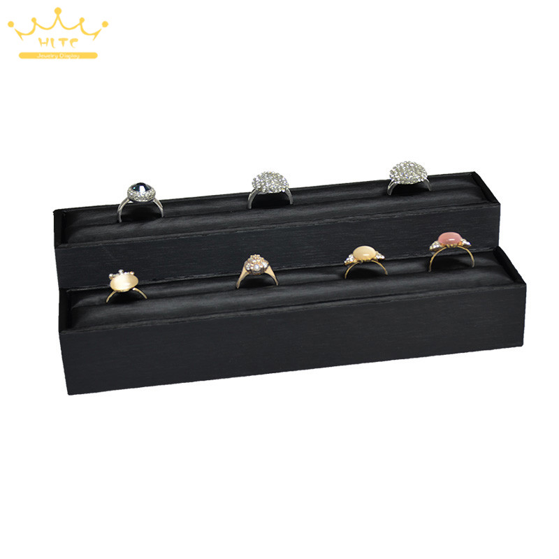 Earrings Ring Organizer Stand Display for Ring Ear Slots Stud Earring Storage Holder Rack