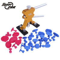 Super PDR Tools Paintless Dent Repair Tools Dent Removal PDR Tool Kit Dent Puller Tabs Hand