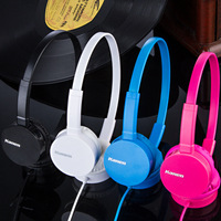 Kanen Ip600 Over Head Boys Girls Kids Children Teens STEREO Headband Headphones Headset With Mic For