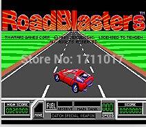Road Blasters 16 bit MD Game Card For Sega Mega Drive For Genesis