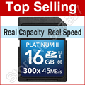 45MB/s High Speed 300x 16GB 32GB SDHC SD Card Class 10 Memory Card 64GB SDXC For Canon Nikon Casio Digital DSLR Camera Camcorder