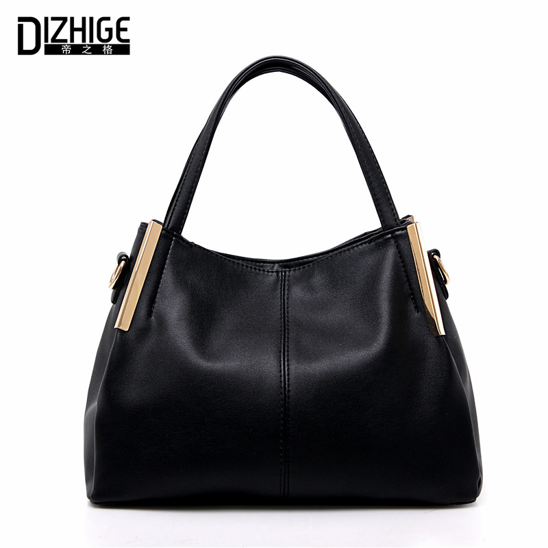 DIZHIGE Brand Designer Women Leather Handbags High Quality Bags Women Handbags Famous Ladies Hand Bags Shoulder Tote Sac Fashion dizhige brand 2017 fashion thread crossbody bags plaid pu leather bags women handbags designer shoulder bags ladies sac spring