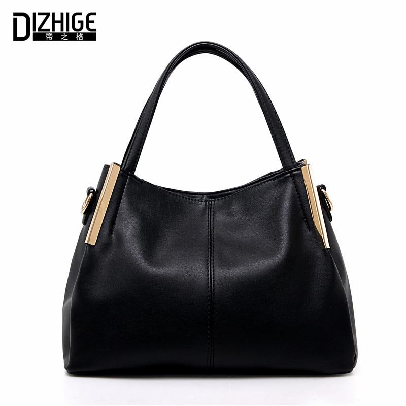 DIZHIGE Brand Designer Women Leather Handbags High Quality Bags Women Handbags Famous Ladies Hand Bags Shoulder