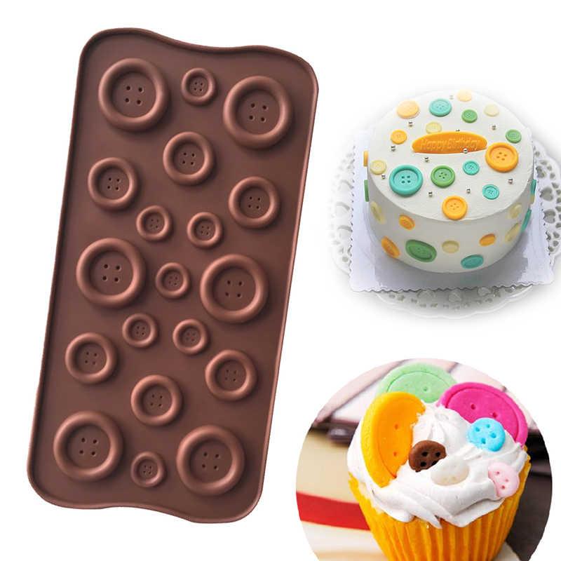 1 pc חיות 3D שוקולד סיליקון עובש היפופוטם דוב אריה כפתור DIY עוגת קישוט אפיית כלים סוכריות מאפה עובש קרח קוביית סבון