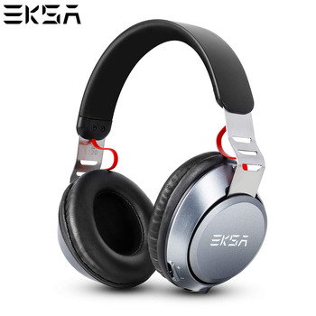 EKSA Wireless Headphones With 500 mAh Battery 30 Hours Playing Time Over Ear BT4.2 Headset With Mic For  iPhone Xiaomi Huawei