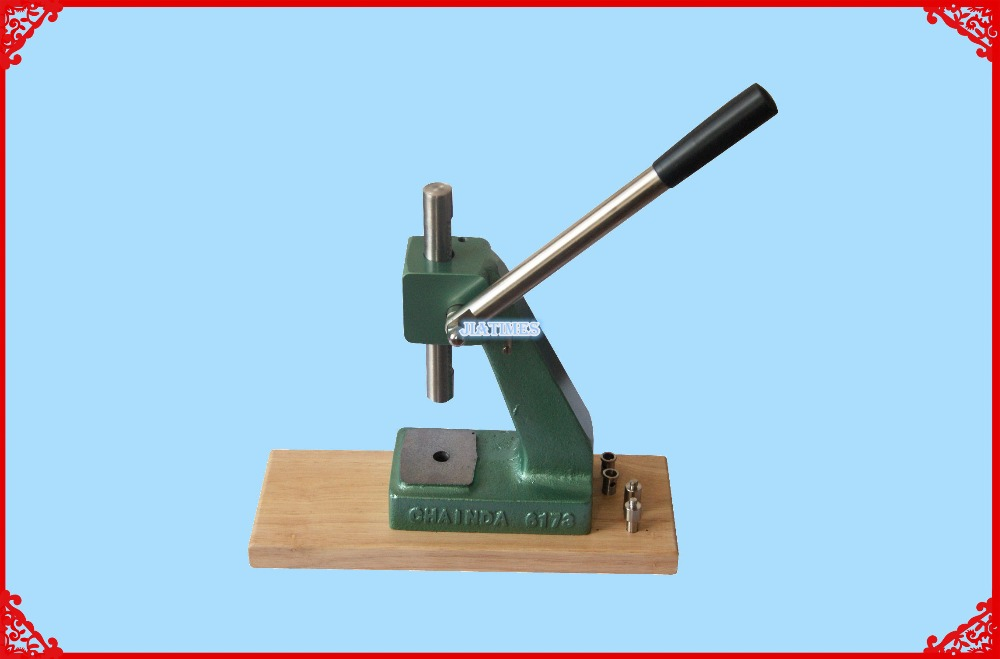 Heavy Duty Press Ideal for Mineral Glass Crystals with Gaskets and Tension Ring Crystals