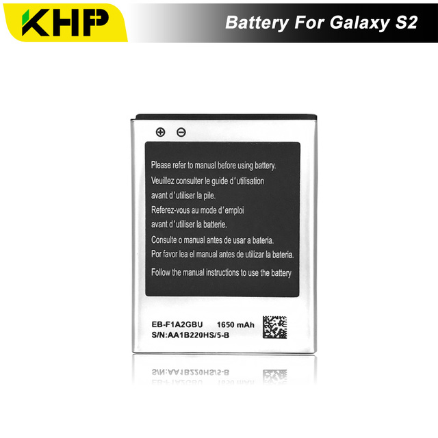 NEW 2017 100% Original KHP Phone Battery For Samsung Galaxy S2 I9100 I9103 I9105 Quality Battery Replacement Mobile Batteries