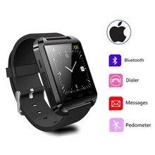 Freeshipping Heiße Verkauf Smartwatch U8 Digital Bluetooth Sport Smart Armbanduhr Für Iphone Android Telefon Mode Alarm Musik Spielen