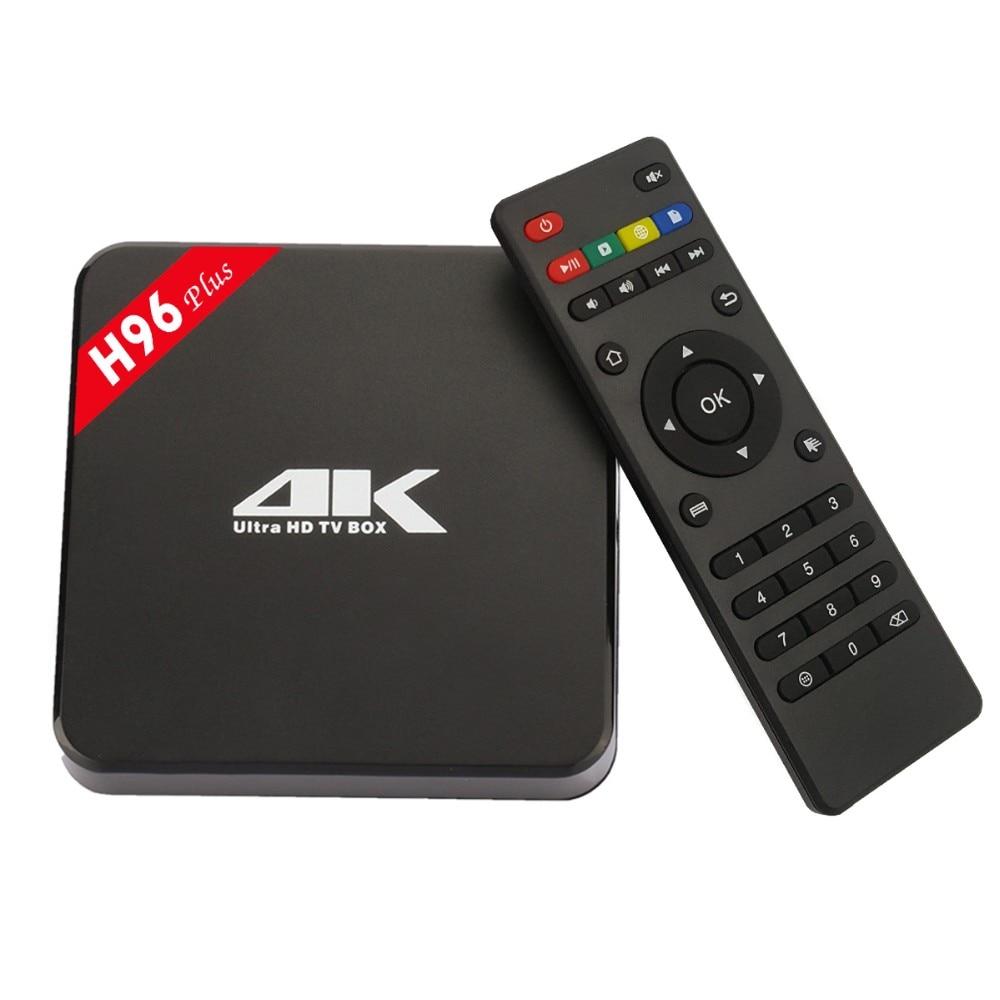 ФОТО H96 Plus 64Bits TV BOX 2GB+16GB S905 Android 5.1 Ultra 4K HD TV BOX 2.4G/5G WIFI Bluetooth4.0 Cortex-A53 1080P Kodi 16.0 TVBOX