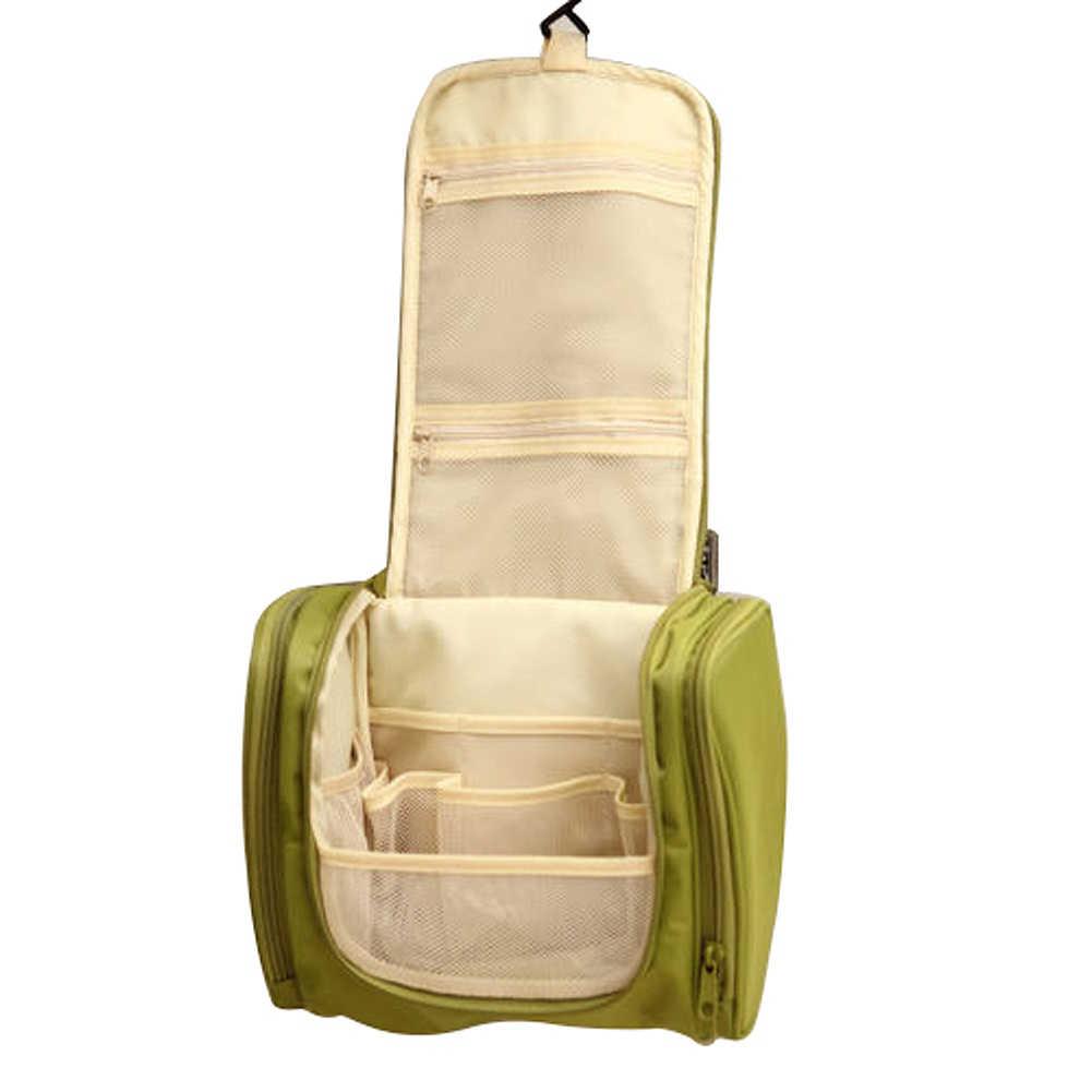 4393ed59a3bc ... Waterproof Men Hanging Makeup Bag Nylon Travel Organizer Cosmetic Bag  for Women Large Necessaries Make Up ...