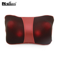 Hot 2014 Infrared Heating Car Double Massage Device Neck Massage Pillow Massage Car Massager Cushion Car
