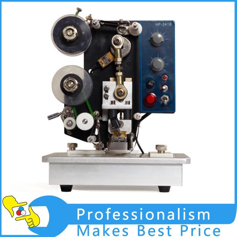 HP-241B New Semi-Automatic Electric Color Tape Marking Machine Automatic Code Machine Date Printing Machine expire date printing machine date code printer machine for printing expiration date