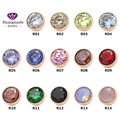 2016 новые мода ювелирных изделий витая zetting кольцо глава аксессуары розового золота 14 цветов циркон можно выбрать ME001