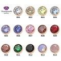 2016 mais recente moda de zetting anel rosa banhado a ouro de 14 cores de pode escolher ME001