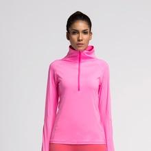 Женская куртка для бега, пальто, компрессионные колготки, спортивная рубашка для фитнеса и упражнений, трикотажная одежда, спортивная куртка с длинным рукавом