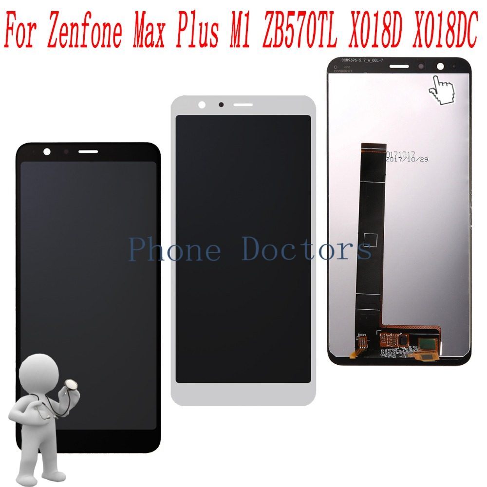 5.7 inch Full LCD DIsplay+Touch Screen Digitizer Assembly For Asus Zenfone Max Plus M1 ZB570TL X018D X018DC