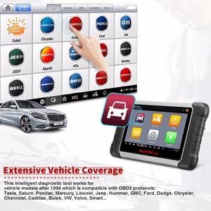 Image 4 - Autel MaxiCOM MK808TS Automotive OBD2 Car Diagnostic Scan Tool OBD 2 Bluetooth Scanner Programming TPMS MX Sensor PK MK808 TS608