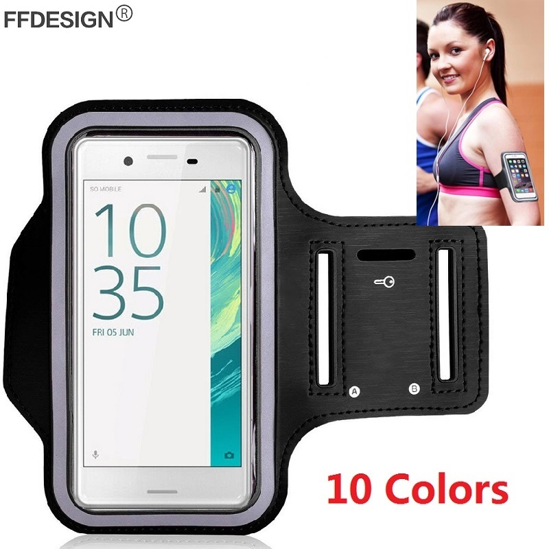Running Sports Gym Exercise Armband Phone Case Cover For Sony Xperia XZ3