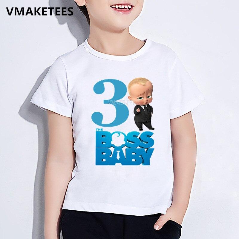 Kids Happy Birthday Gift Girls & Boys Tshirt Children The