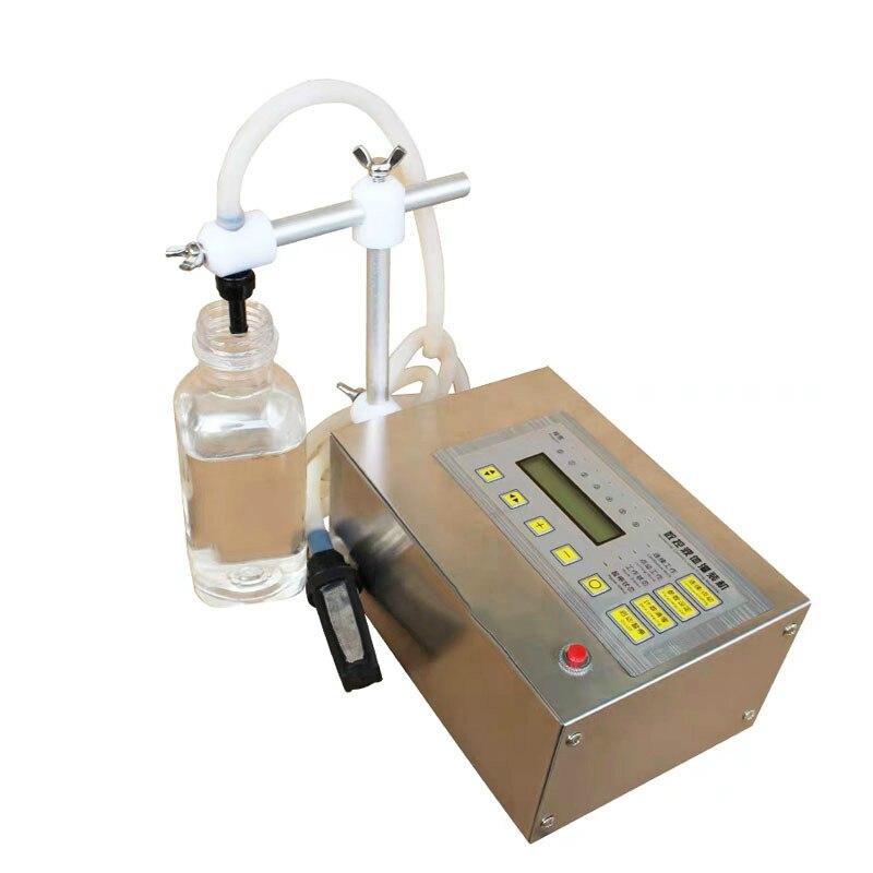 Contrôle numérique boisson liquide Machine de remplissage MINI électrique LCD affichage eau huile parfum lait huile d'olive bouteille remplisseur EU US