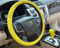 Silicone Car Steering Wheel Cover Case,32CM ,high quality ,free shipping
