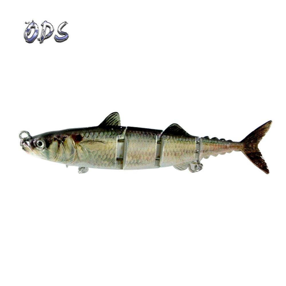 ODS 4 секции, плавающая приманка для тунца, 15 см, 31 г, бесплатный образец, рыболовные приманки, жесткие шарнирные приманки для ловли окуня в соленой и пресной воде - Цвет: 446