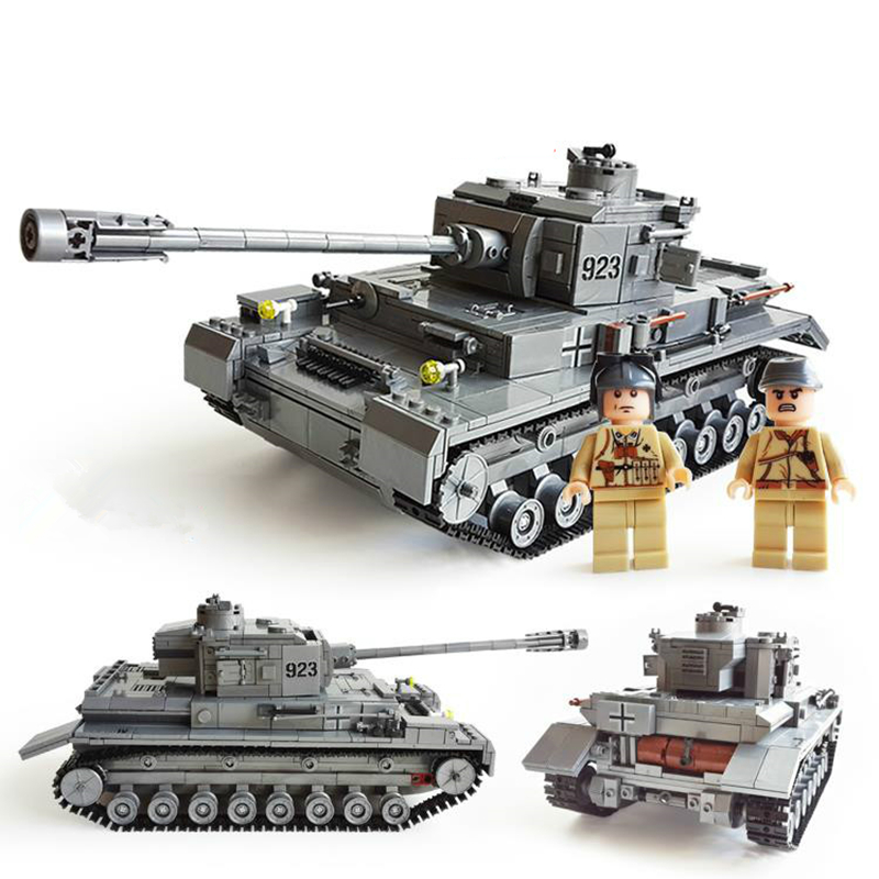 KAZI 82010 1193pcs Large Military Tanks Building Blocks Toys For Children tank Bricks Educational Bricks Toy Kids Birthday Gift kazi building blocks toy pirate ship the black pearl construction sets educational bricks toys for children compatible blocks