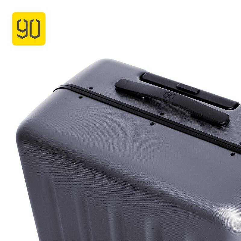 Léger Xiaomi Pouces 20 24 Aluminium 90fun Bagage À Taille Valise En Main De Pc L'écosystème Voyage Ceinture Grey Deep Encadrée Vacances EqrqZCAx