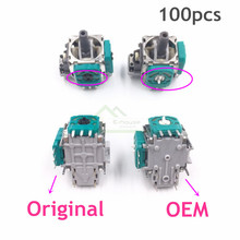100pcs Wholesale Price for Xbox One Controller Original 3D Analog 3Pin Sensor Module Potentiometer 3D Joysticks Replacement