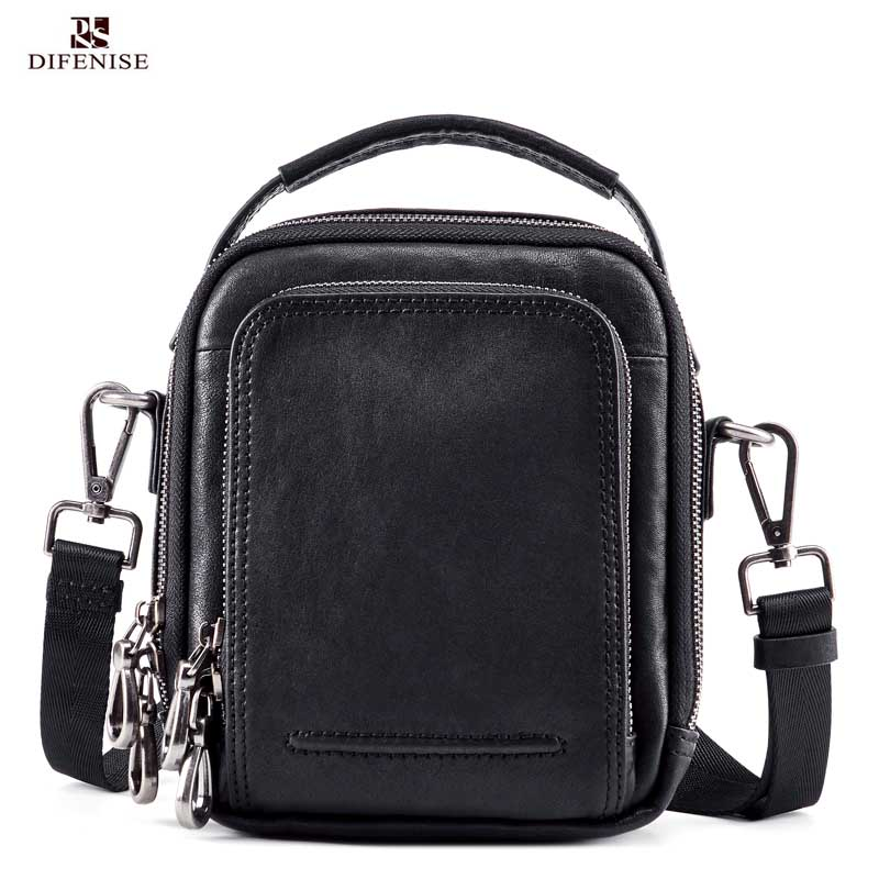 Difenise Brand 100% Genuine Leather Men Messenger Bag Casual Crossbody Bag Business Men's Handbag Bags for gift Shoulder Bags всесезонная шина pirelli scorpion verde all season 255 55 r20 110w