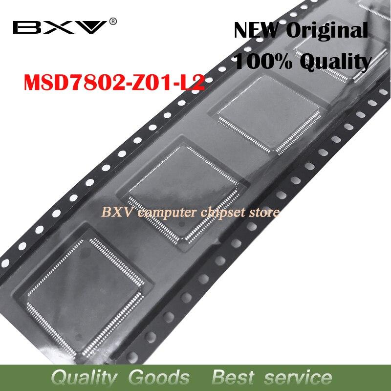 2pcs MSD7802-Z01-L2 MSD7802 Z01 L2 QFP Chipset New original2pcs MSD7802-Z01-L2 MSD7802 Z01 L2 QFP Chipset New original