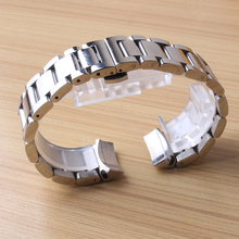 Durable Stainless steel Watchbands For sport Watches Fit Gear S3 curved end special interface Watch band strap bracelet polished все цены