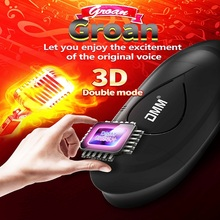 Male Masturbator Vibrator Real Vagina for Men Silicone Toy Can Sound Deep Throat Pussy Mouth Double Sex Toys for Adult Suck Man male masturbator sex toys electric sucking strong vibrator for men silicone deep throat vagina pussy cup sexo for adult