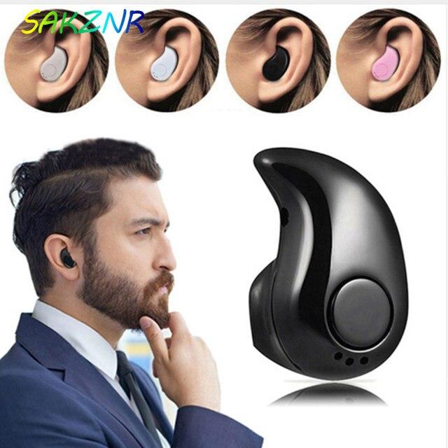 Mini Wireless Bluetooth Earphone in Ear Sport with Mic Earphones Handsfree Headset Ear buds  Ear phone for iPhone 8 X Samsung