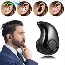 Mini bezprzewodowy zestaw słuchawkowy Bluetooth w ucho sportowe z mikrofonem słuchawki bezobsługowy zestaw słuchawkowy zatyczki do uszu słuchawka dla iPhone 8 X Samsung