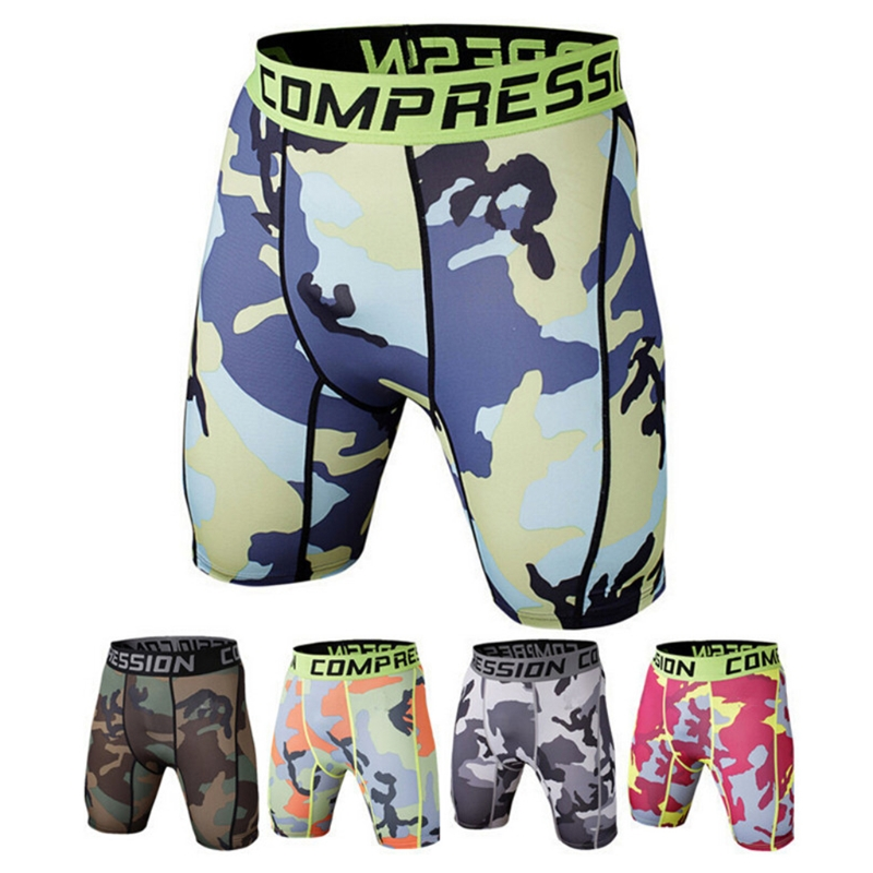 Shorts Compression-Tights Gyms Fitness Workout Bodybuilding Male Men Inseam Elastic Muscle-Alive