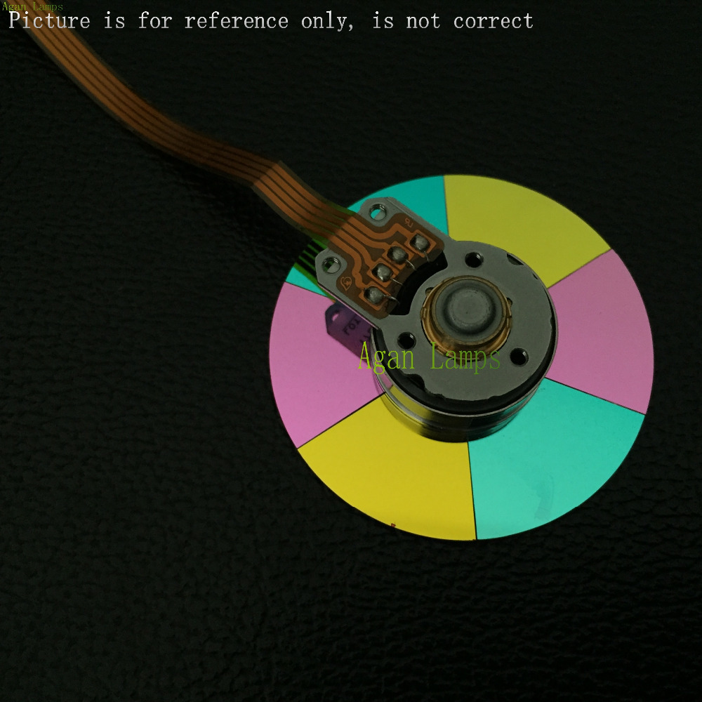 100% NEW Original Projector Color Wheel for Vivitek D742HDC wheel color free shipping new original projector color wheel for vivitek d742hdc color wheel 1pcs