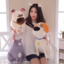 NEW HOT 25cm 35cm 50cm The Secret Life of Pets Plush cartoon toys for kids gift Stuffed Dolls