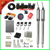 300kg Per Leaf Stainless Steel Swing Gate Opener Kit With Electric Lock For Farm Or Home
