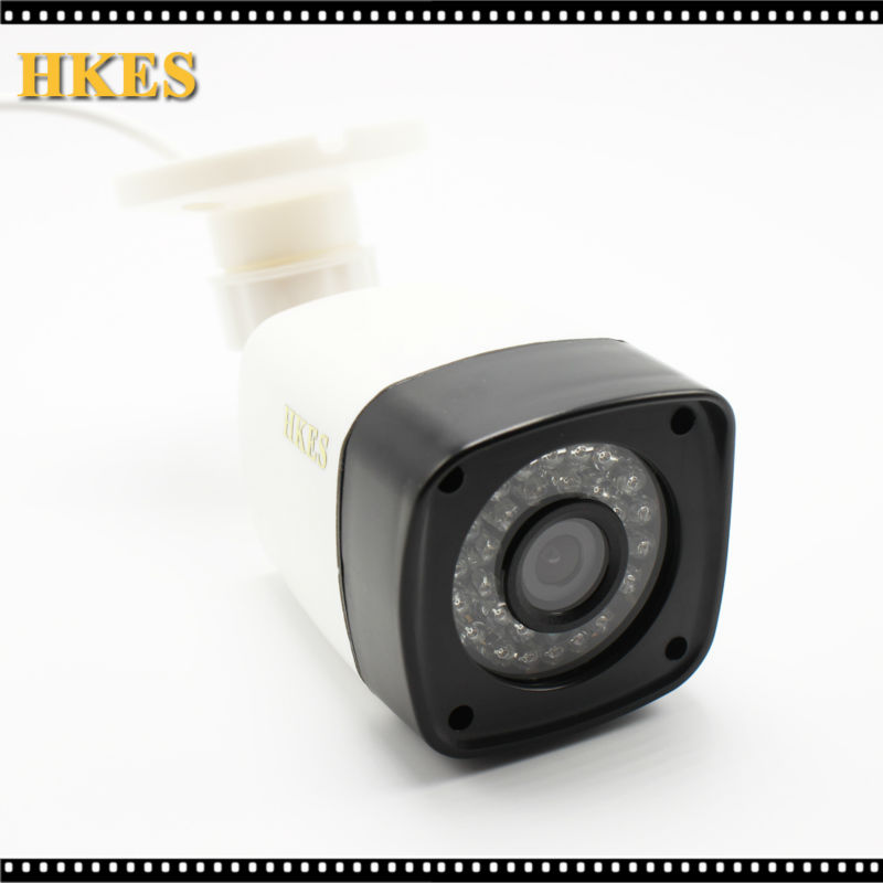 HKES 1280*720P 1.0MP Bullet IP Camera 1080P IR Outdoor Security ONVIF 2.0 Waterproof Night Vision P2P IP Cam IR Cut Filter hkes full hd 1080p bullet outdoor security camera ip 1920x1080 resolution 25meter night vision ip66 waterproof
