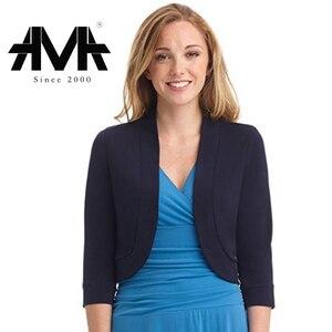 Image 2 - بلازير بدلة قصيرة كاجوال عصرية للنساء
